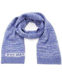 Rochas - Wool Scarf - Lyst