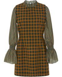 Sea - Ethno Pop Combo Dress - Lyst