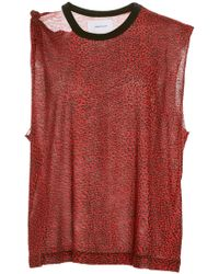 Current/Elliott - The Sonic Ripped Tank - Lyst