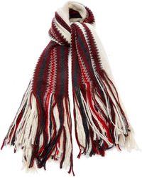 Isabel Marant - Kimn Striped Mohair-blend Scarf - Lyst