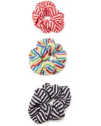 Solid & Striped - Set Of 3 Scrunchies - Lyst