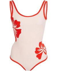 Onia - Kelly Floral-print One-piece Swimsuit - Lyst