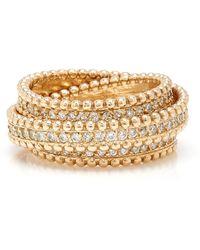 Sophie Ratner - 14k Gold Diamond Ring - Lyst