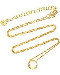 Amrapali - Kundan 18k Gold And Diamond Pendant Necklace - Lyst