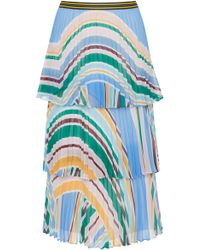 Rachel Gilbert - Soekie Tiered Skirt - Lyst