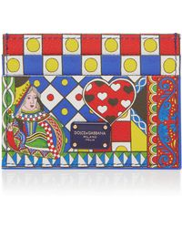 Dolce & Gabbana | Queen Of Hearts Card Case | Lyst
