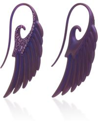 Noor Fares - Fly Me To The Moon Sapphire Earrings - Lyst