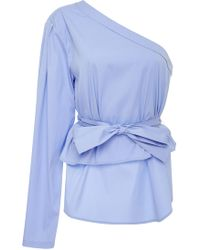 TOME - Off-the-shoulder Blouse - Lyst