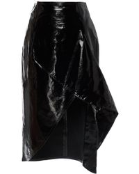 Zeynep Arcay | Patent Leather Skirt | Lyst