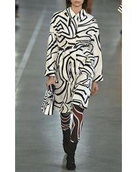 Emilio Pucci | Long Bodied Swirl Coat | Lyst