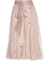 Maria Lucia Hohan - Abra Silk Skirt - Lyst