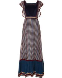 Talitha - Ashanti Print Long Alicia Dress - Lyst