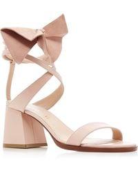 ADEAM - Bow Ribbon Shoe - Lyst