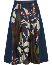 La Prestic Ouiston | Sagan Pleated Skirt | Lyst