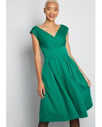 Emily and Fin - Keener Postures Midi Dress - Lyst