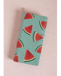 ModCloth | Seed You Around Watermelon Wallet | Lyst