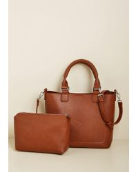ModCloth - Classically Chic Tote Bag - Lyst