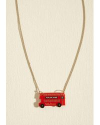 Tatty Devine - This Is Bus Necklace - Lyst