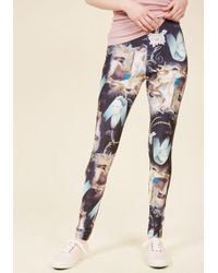 Hell Bunny - Eclectic Artistry Leggings - Lyst
