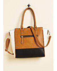Triple 7 - Triple The Charm Bag In Cognac - Lyst
