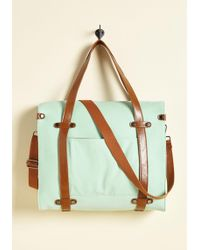Nug - Camp Director Tote In Mint - Lyst