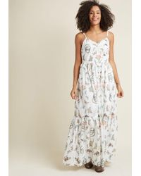 ModCloth - In Your Nature Maxi Dress - Lyst