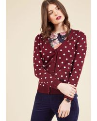 Mak - Collect Your Spots Cardigan - Lyst