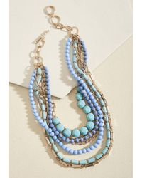 Ana Accessories Inc - Yes You Glam Necklace In Sky - Lyst