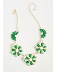 Cara - Retro And Columns Necklace - Lyst