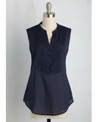 Magazine Clothing Co., Inc. - On Your Roam Time Tunic In Navy - Lyst