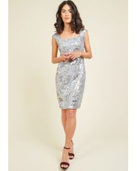 Marina - The One Who Glitz Me Sequin Dress - Lyst