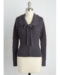 Banned - Cable To Make It Cardigan - Lyst