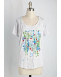Fuzzy Ink | Grow And Tell T-shirt | Lyst