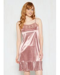 O2 Collection - Foundation Fascination Full Slip In Rose - Lyst