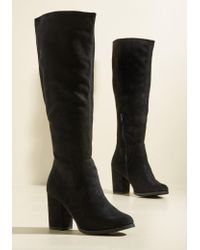 Fortune Dynamic - Habitually Haute Block Heel Boot - Lyst