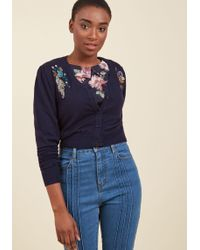 Banned - Stylish Sentiments Floral Cardigan - Lyst