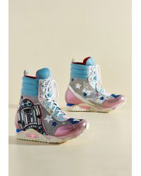 Irregular Choice - Not To Be Droid With Trainer - Lyst