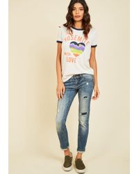 Eunina, Incorporated - Casual Classification Jeans - Lyst