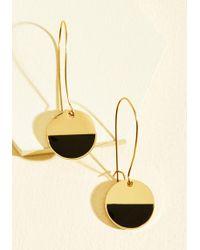 Beijo Brasil - Stunning In Circles Earrings In Black - Lyst