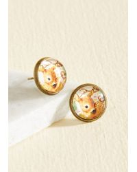 Beijo Brasil - It's All Fawn And Games Earrings - Lyst