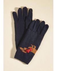 Alice Hannah - Ruff Sledding Gloves - Lyst