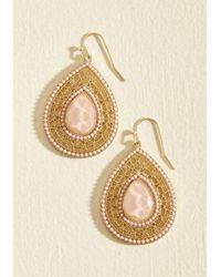 Ana Accessories Inc | Live, Laugh, Lobe Earrings In Blush | Lyst