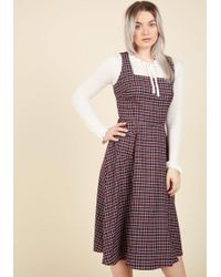Collectif Clothing - Raring To Reminisce Midi Dress - Lyst