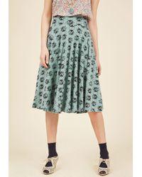 Effie's Heart - Easy Peasy, Livin' Breezy Midi Skirt In Ladybugs - Lyst