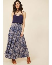 Effie's Heart - Comfortable Classic Maxi Skirt In Blossom - Lyst