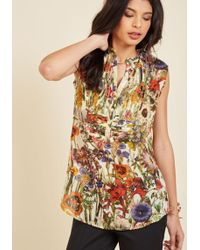 Magazine Clothing Co., Inc. - On Your Roam Time Tunic In Country Flowers - Lyst