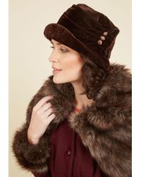 Jeanne Simmons Accessories - Class From The Past Velvet Hat - Lyst