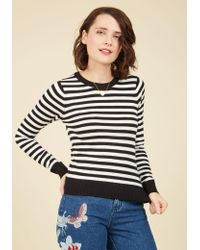 Mak - Classic Attraction Striped Sweater - Lyst