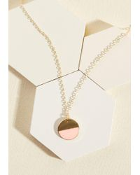 Beijo Brasil - Stunning In Circles Necklace In Petal - Lyst