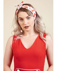 ModCloth - Influential Accessorizing Headband In Hearts - Lyst